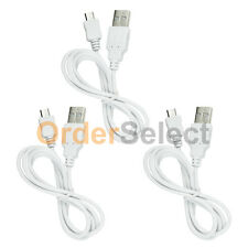 3 USB White Battery Charger Data Cable for Android Samsung Galaxy Note 1 2 3