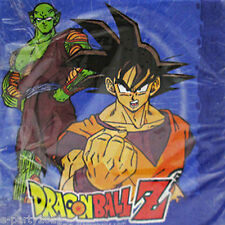DRAGON BALL Z LUNCH NAPKINS (16) ~ Birthday Party Supplies Large Serviettes Boys