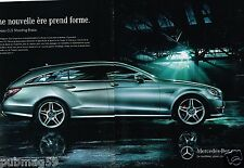 Publicité Advertising 2012 (2 pages) Mercedes CLS Shooting Brake