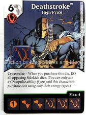 Green Arrow Flash DEATHSTROKE High Price #52 DC Dice Masters card