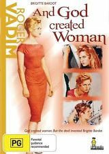 AND GOD CREATED WOMAN BRIGITTE BARDOT - MOVIE IN FRENCH  - BRAND NEW SEALED DVD