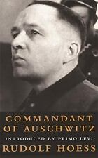 Commandant of Auschwitz : The Autobiography of Rudolf Hoess-ExLibrary