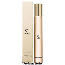 GIORGIO ARMANI SI for WOMEN * 0.34 oz (10 ml) EDP Rollerball NEW in BOX Sample
