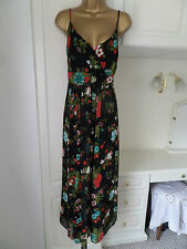 """GORGEOUS LINED MAXI DRESS BY MIA MODA IN VG CON SIZE 18 BUST 44"""""""