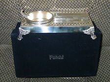 VINTAGE-PATCHI SILVER-HANDMADE-SILVER-CIGAR-SET (LAST ONE)