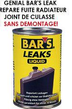 BAR'S LEAK REPARE FUITE RADIATEUR JOINT DE CULASSE SANS DEMONTAGE! HDJ LAND JEEP