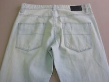 026 MENS NWOT BEN SHERMAN ROD SLIM PALE BLUE FADE STRETCH JEANS 31 / 33 L $130.