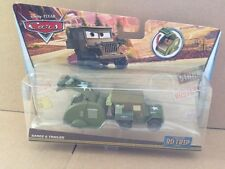 DISNEY CARS DIECAST - New 2017 Release - Road Trip Sarge & Trailer