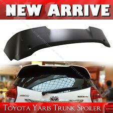 14-16 Unpainted Toyota 3rd Yaris Hatchback T-Style Rear Roof Spoiler Wing