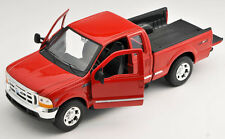 BLITZ VERSAND Ford F-350 Pick Up  rot / red Welly Modell Auto 1:24 NEU & OVP