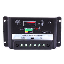30A MPPT Solar Panel Battery Regulator Charge Controller 12V/24V Auto Switch