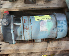 Onga 700440 plastic body 1 hp .75 kw 3 phase pump  with 1 1/4 port