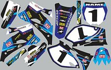 2006-2009 Yamaha YZ250f 450f YZF 250 450 Graphics Decal fender shrouds stickers