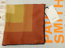 PAUL SMITH Pocket Square Italian DEGRADE Lrg Silk Hankie Handkerchief BNWT RP£65