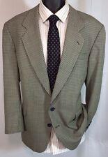Men's Oscar De La Renta Size 44R Silky Worsted Wool Blazer |Sport Coat Free Tie