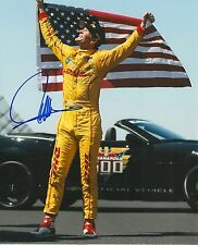 RYAN HUNTER-REAY signed 8x10 INDY 500 photo IRL INDY with COA