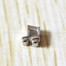 1 PC New Floating Charm Music Note for Memory Living Glass Floating Locket