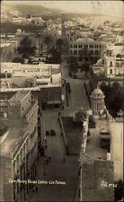 Las Palmas Spanien España AK 1926 Calle Muro Obispa Codina Straße Kirche Stadt