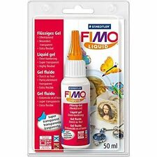 FIMO LIQUID Polimero Argilla Modellare DEKO/DECO GEL 50ml bakable Medium di trasferimento