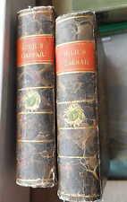 Caesar: Commentarii nebst einer deutlichen Erklärung, Gießen 1740, 2 Bde. Pappbd