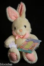 "Garden Gate Collection 6"" Mini FLUFFY BUNNY Applause Plush Toy Doll NWT NEW"