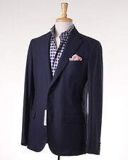 NWT $4795 BRIONI 'Light' Navy Blue Year-Round 160s Wool Blazer 40 R Sport Coat