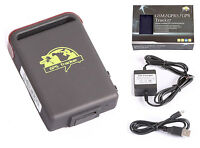 Vehicle GPS GSM GPRS tracker tk102b Quad band gsm Hard-wired Charger with box