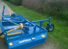 NEW SUFFOLK S40 PADDOCK PASTURE GRASS TOPPER FOR COMPACT MINI GARDEN TRACTOR
