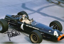 Jackie Stewart Hand Signed 12x8 Photo Owen Racing Organisation F1.