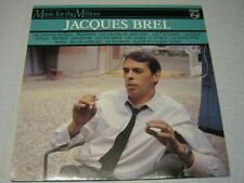 JACQUES BREL 33 TOURS HOLLANDE MUSIC FOR THE MILLIONS