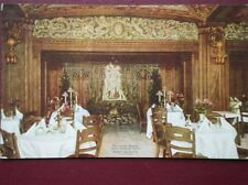 POSTCARD USA CHICAGE HOTEL LA SALLE BLUE FOUNTAIN ROOM