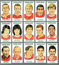 LIVERPOOL FC LEGENDS ILLUSTRATED COLLECTABLE CARD SET. FREE UK POSTAGE