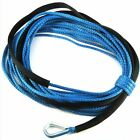 "50' X 1/4"" Dyneema Synthetic Winch Cable Rope for ATV/UTV 4000 5000 6000LBS"