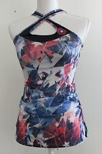 Marvel Her Universe Captain America Workout Sports Bra Tank Active Wear Size xs
