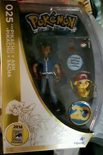 2016 SDCC COMIC CON EXCLUSIVE TOMY POKEMON AND ASH 20TH ANNIVERSARY FIGURE /2000
