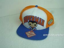 Funko Pop Heroes Superman Orange Blue Snapback Snap Back Baseball HAT Cap NEW