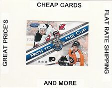 2012-13 CERTIFIED Path To The Cup ADAM LARSSON & BRAYDEN SCHENN  #/399