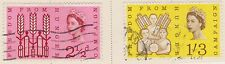 (GBB53) 1963 GB 2set Freedom from hunger (B) used
