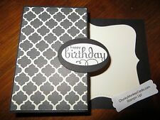 "Stampin Up "" Happy Birthday"" Homemade Greeting Card 274"