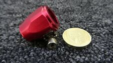 AN-06 (JIC AN6) 15MM RED HOSE END FINISHER FUEL/OIL/WATER JUBILEE CLIP CLAMP