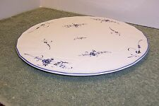 """VILLEROY & BOCH VIEUX LUXEMBOURG 11 3/4"""" RAISED CAKE PLATE"""
