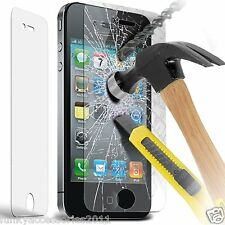 Genuine Premium Tempered Glass LCD Screen Protector for Apple iPhone 4s 4g 4