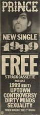 29/1/83PN17 ADVERT: PRINCE SINGLE 1999 WITH FREE CASSETTE 15X5