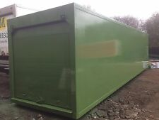 insulated storage containers (better than steel) Office,workshop,stables