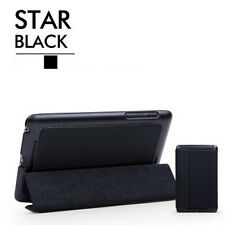 Black For Google Asus Nexus 7 Tablet Leather Folio Stand Case Smart Cover