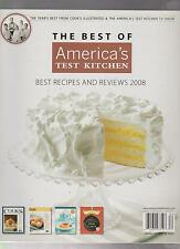BEST OF AMERICA'S TEST KITCHEN 2008 YEARS BEST FROM COOK'S ILLUSTRATED, TV SHOW