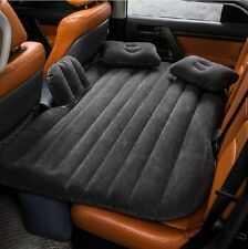 Inflatable Travel Camping Car Seat Sleep Rest Mattress Air Bed with Pillow/Pump