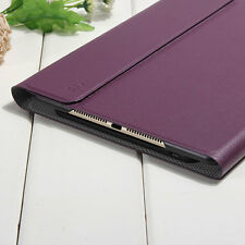 Slim Magnetic Leather Smart Cover Hard Back Case Stand For APPLE iPad Air 2 6th
