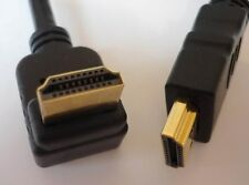 High Speed HDMI cable with Ethernet 4 9/10ft 270 Degrees angled / angled NEW