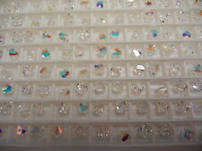 48 swarovski crystal graphic cube beads,4mm crystal AB #5603